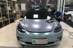 聊聊深圳光明改色膜汽车车身的处理经历及经验