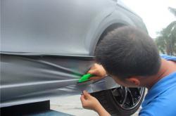 深圳车身改色贴膜太复杂?教你一个简单的方法!