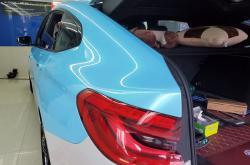 一分钟告诉你深圳改色车身贴膜你需要注意的事!