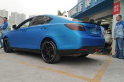 关于深圳车身改色贴膜价格的一些观点!