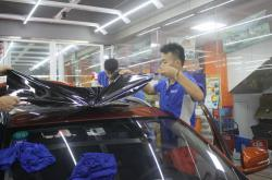不一样的深圳汽车贴膜改色应对策略