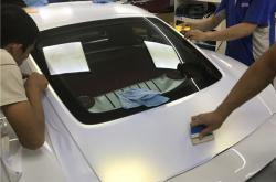 深圳汽车改色膜是如何轻松应对的?