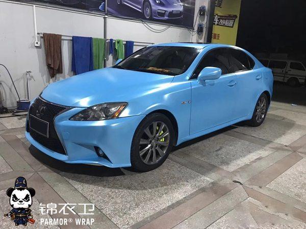 深圳宝马5系整车贴膜改色