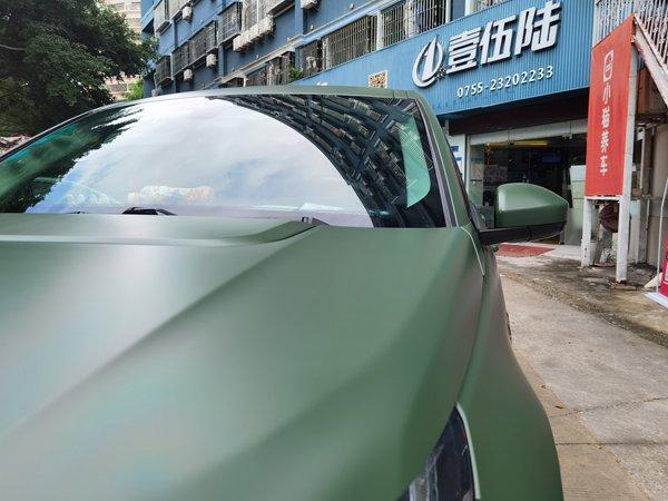 深圳汽车车身改色膜怎么贴