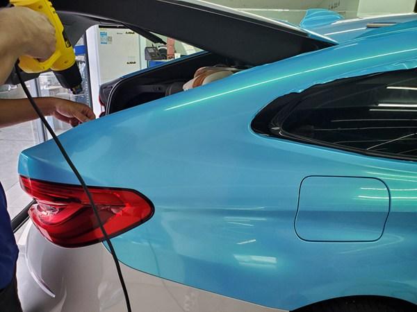 深圳宝安车身改色贴膜价格的三个关键点