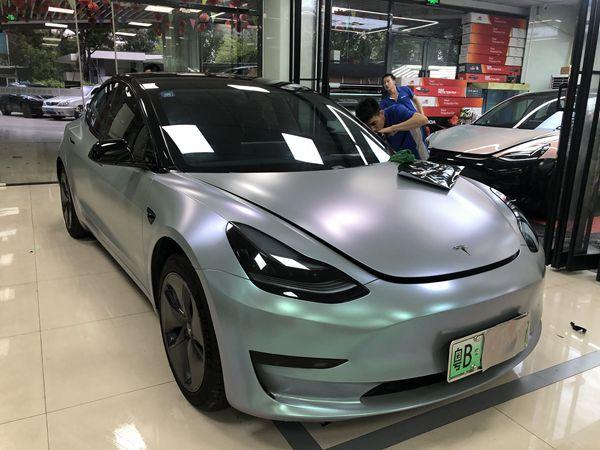 深圳宝安汽车全车身改色膜