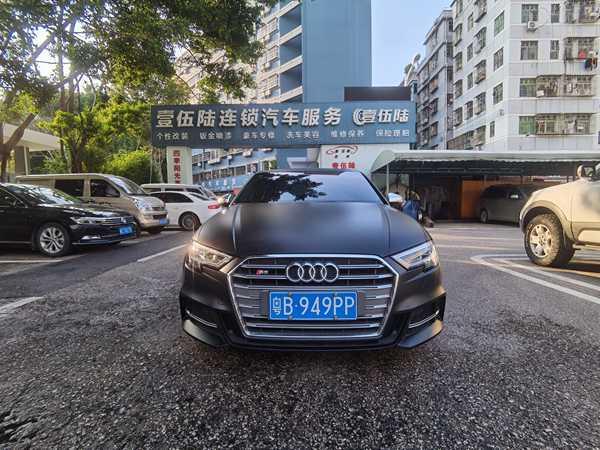 深圳宝安汽车绿色改色膜