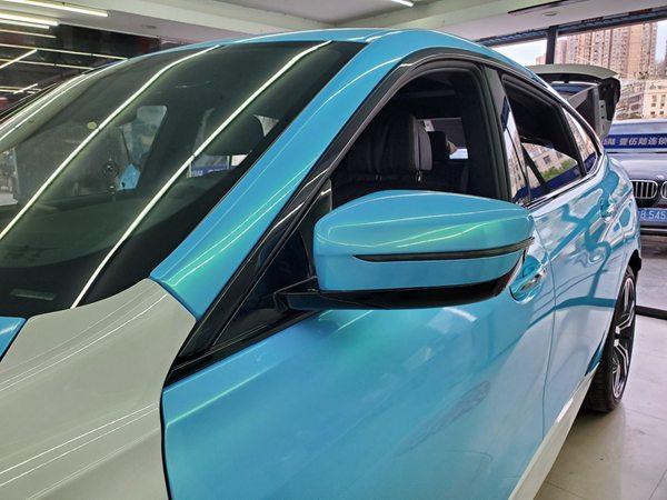 教你如何解决深圳宝安改色膜车辆的问题!