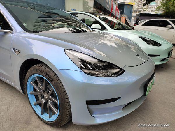 深圳宝安汽车改色膜有哪些颜色