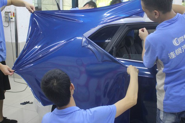 深圳宝安改色汽车膜贴膜越来越难?事实并非如此