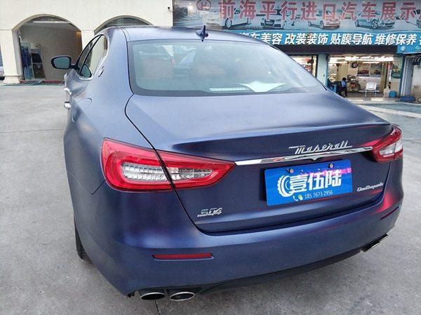 深圳汽车全身改色要多少钱